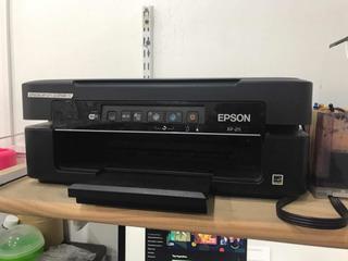 Impresora Epson Xp211 Con Sistema Sublimación - Para Reparar