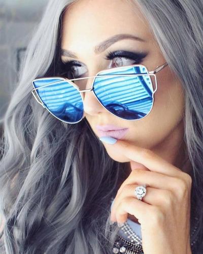 Gafas De Sol Mirrored Cat Eye