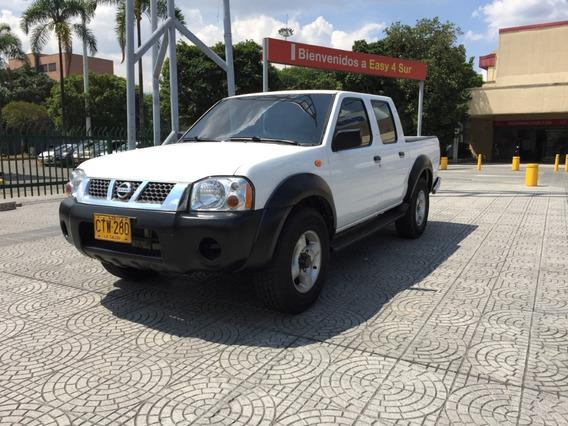 Nissan D22 4x4, Doble Cabina, Gasolina
