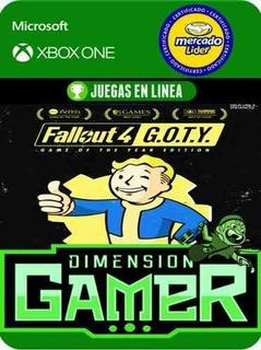 Fallout 4 Goty - Xbox One - Modo Local + En Linea