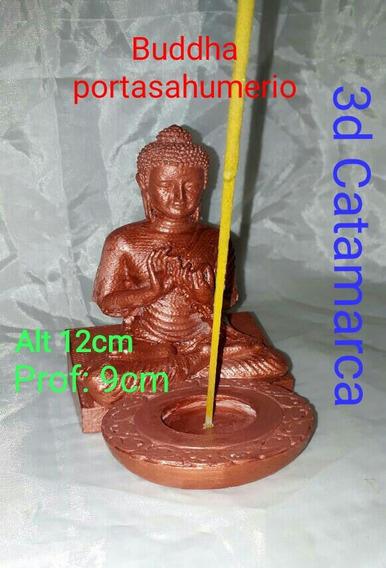 Buddha Portasahumerio Hecho En Plastico