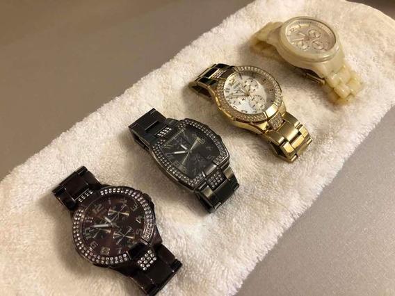 Relógio Guess Feminino (pacote 4 Unidades)
