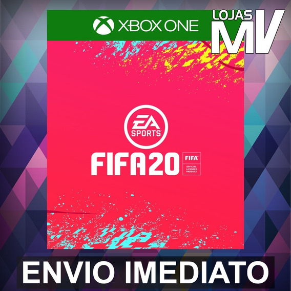 Fifa 20 Xbox One Codigo De 25 Digitos - Pre Venda