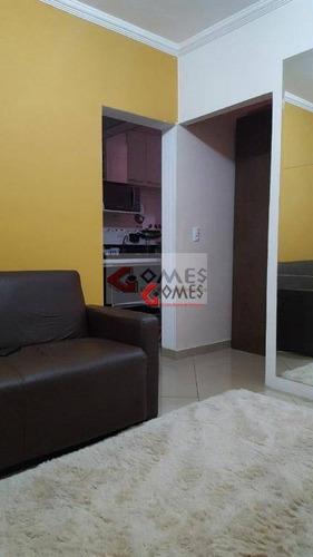 Imagem 1 de 21 de Kitnet Com 1 Dormitório À Venda, 39 M² Por R$ 165.000,00 - Dos Casa - São Bernardo Do Campo/sp - Kn0012