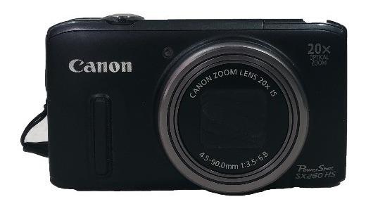 Câmera Digital Sx260 Hs Usada Otimo Estado