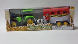 Carro Tractor De Granja