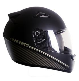 Capacete Masculino Black Edition Ebf Moto Top Barato