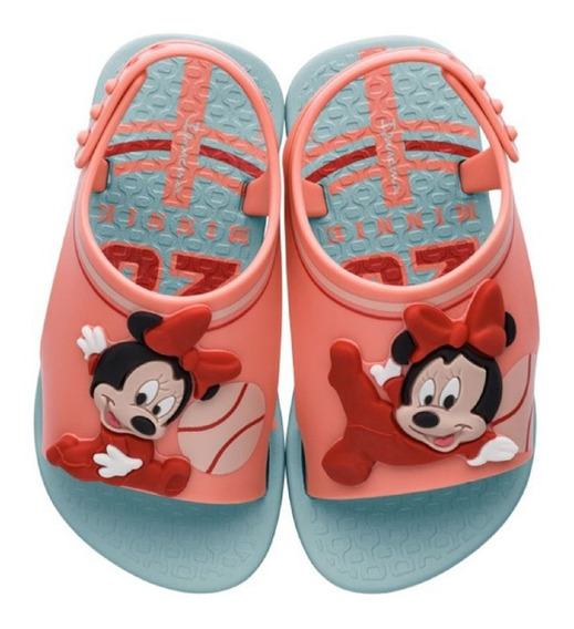 Sandália Menina Minnie Disney Verde Ipanema 26111 C C+