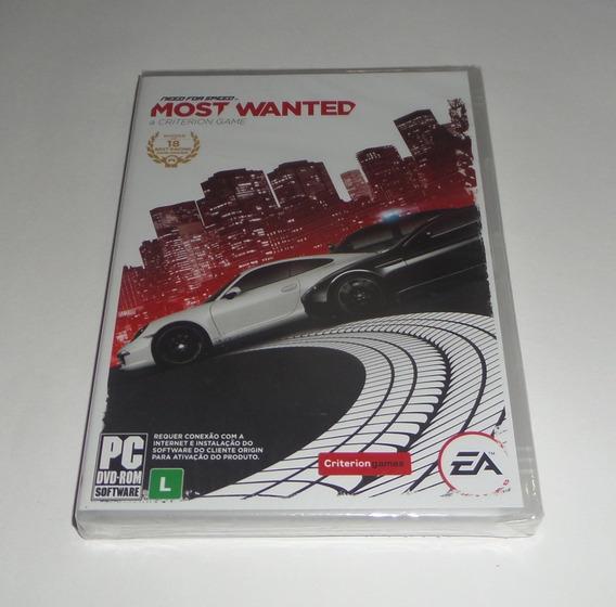 Need For Speed Most Wanted Original Lacrado Mídia Física Pc