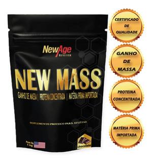 Suplemento Para Ganho De Peso Rápido - New Mass 1kg