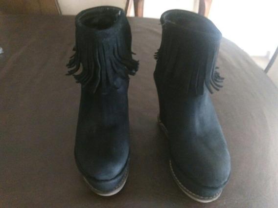 Botas,zapatos Con Plataforma Talle 36$350 Cada Par