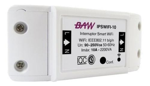 Imagen 1 de 9 de Interruptor Wifi Smart Inteligente Baw Domotica 10a