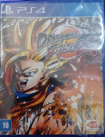 Dragon Ball Fighter Z Ps4 Portugues Novo Lacrado