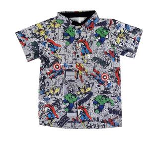 Camisa Vingadores Marvel Gibi Quadrinhos Hq Juvenil