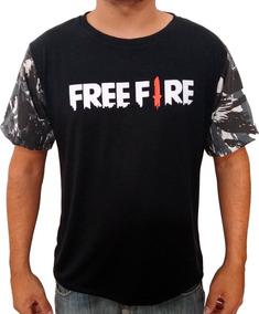 Camisa Camiseta Jogador Jogo Free Fire Logo Unissex Promoção
