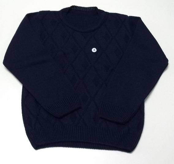 Blusa Tricot Lã Para Meninos E Adolescentes Promoção Inverno
