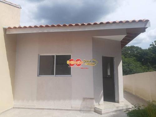 Imagem 1 de 8 de Casa Com 2 Dormitórios À Venda, 70 M² Por R$ 300.000,00 - Jardim Alto De Santa Cruz - Itatiba/sp - Ca4259