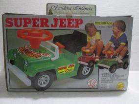 Pedal Car Pilha Super Jeep Willys Brinquedos Rei Único Venda
