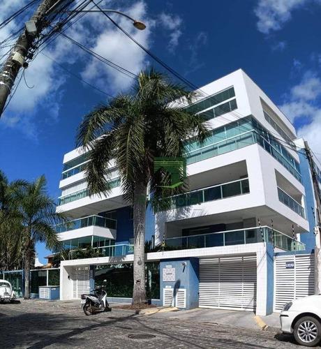 Apartamento À Venda, 86 M² Por R$ 403.000,00 - Costa Azul - Rio Das Ostras/rj - Ap0556