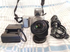 Câmera Sony Nex 5 Lente 18-55 4,7k De Clicks Apenas!!
