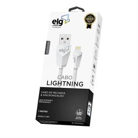 Cabo Lightning Flat Para Recarga E Sincronização - L810