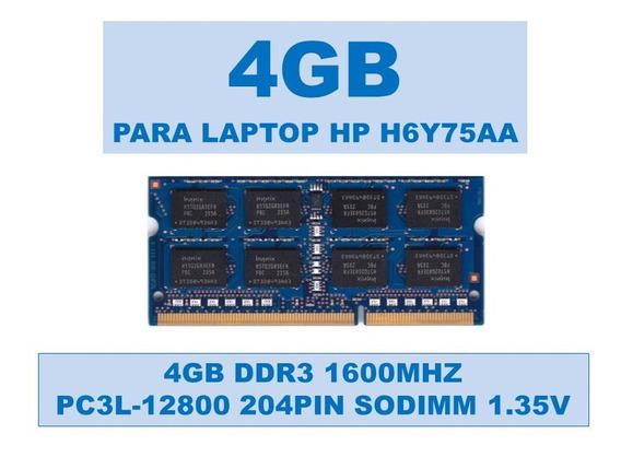 Memoria H6y75aa 4gb Ddr3 1600mhz Para Hp 1.35v