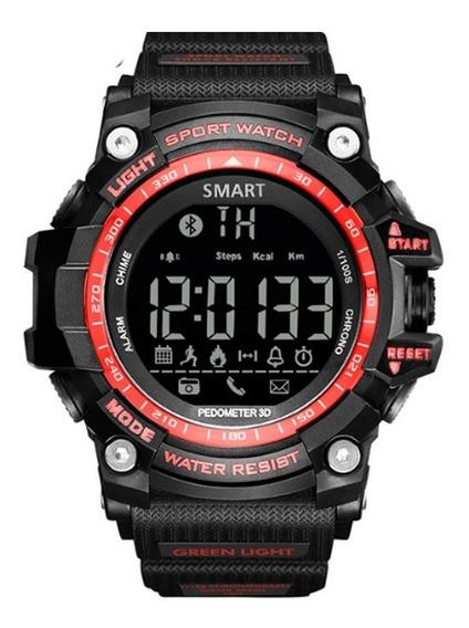 Relógio De Pulso Digital Com Bluetooth Esportivo Militar
