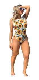Maiô Body Sexy Moda Praia Verão Bori Feminino Ref 163b