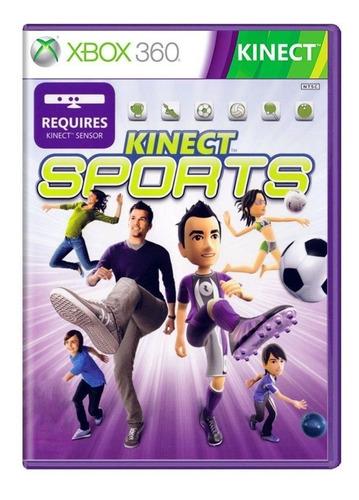 Kinect Sports 1 Xbox 360 Original Tem Boliche Lacrado Port.