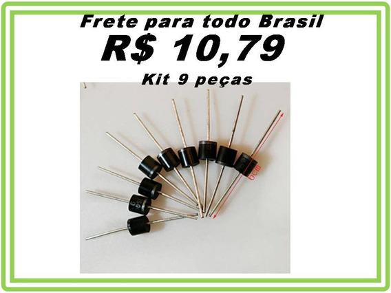 Diodo15a Schottky 15sq045 15a 45v Painel Solar Kit 9 Peças