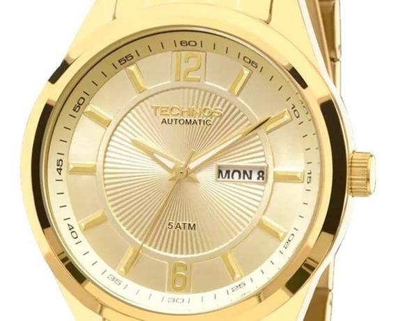 Relógio Technos Masculino Automático 8205nk/4x
