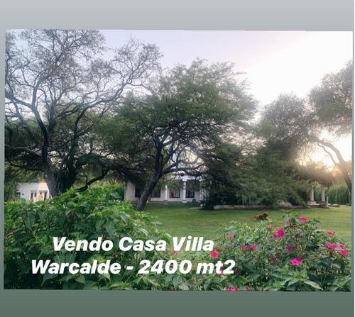 Imagen 1 de 30 de Villa Warcalde - Excelente Propiedad - Todos Los Servicios