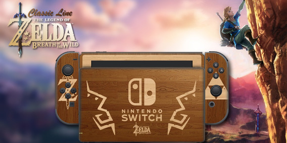 Skin Nintendo Switch Zelda Wood Sublimeskins