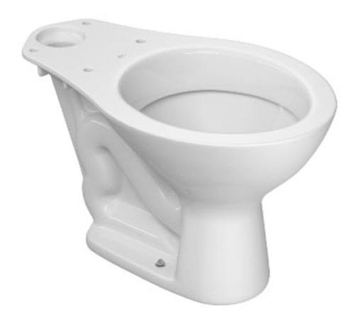Inodoro Largo Marajo Blanco Clasico Deca Loza