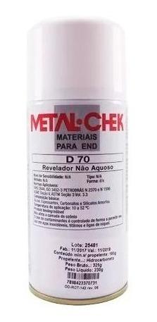 Liquido Revelador D-70 Hi Não Aquoso 225gr Metal Chek