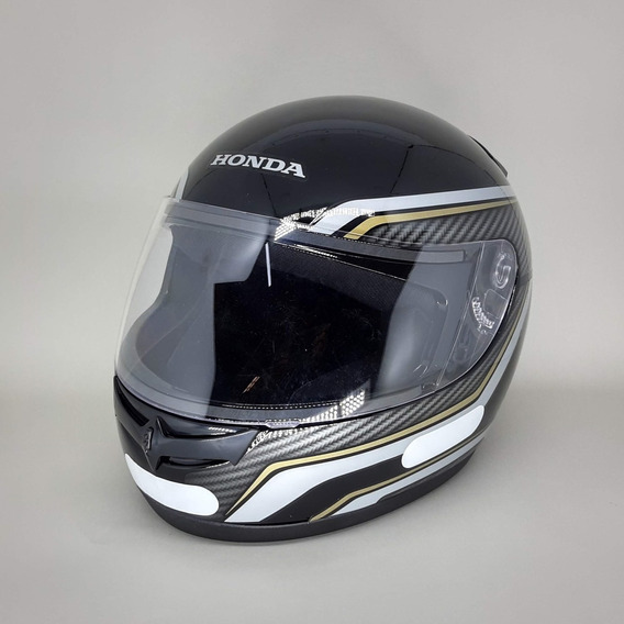 Capacete Honda Fechado Hfs Titan Carbon Preto