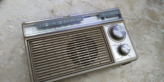 Radio Antigo National , Funciona Mas Tem Revisar, Leia