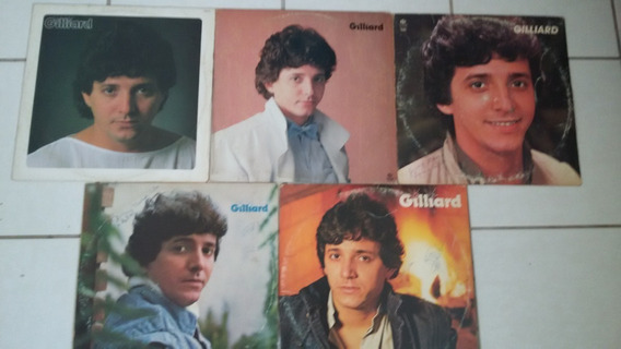 05 Discos De Vinil Do Gilliard