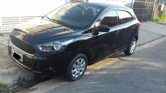 Ford Ka Se Hacth 1.0 12v - 2016/2017 - Preto