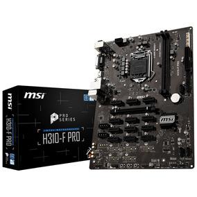 Placa Mãe 1151 Msi H310-f Pro Ddr4 Mining
