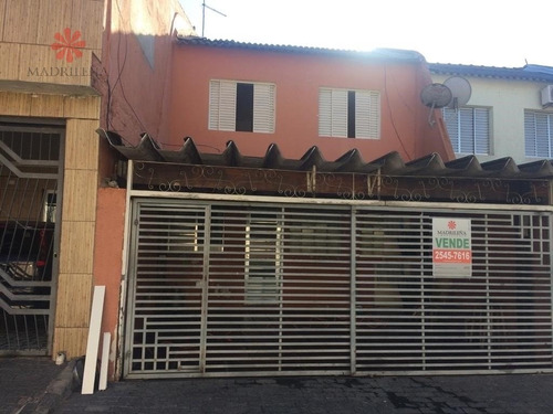 Imagem 1 de 15 de Casa Sobrado Em Vila Ponte Rasa  -  São Paulo - 939