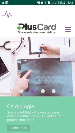Aplicativo Saúde Agendamento Online + Logotipo (sob Medida)