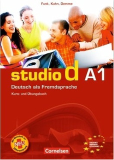 Studio D A1 - Kursbuch + Ubungsbuch + Audio Cd