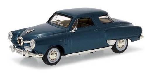 1950 Studebaker Champion Azul - Escala 1:43 - Yat Ming