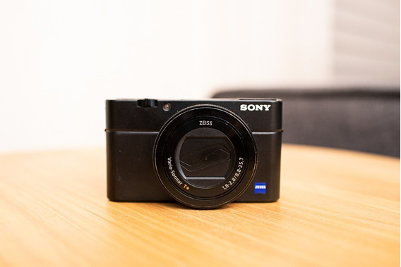 Sony Rx100 Iv Para Aproveitamento De Peças