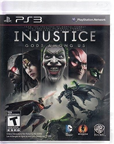 Injustice Gods Among Us Game Ps3 Psn Jogo Digital Original
