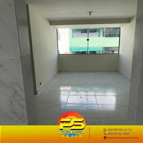 (oferta) Apartamento No Bancários Com 3 Quartos Sendo 1 Suíte - Ap4096