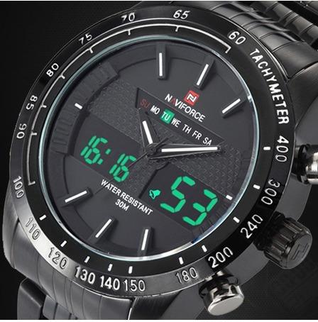 Relógio Militar / Esportes Multifunções Naviforce Nf9024b