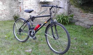 Bicicleta Mountain Bike- Cambios Y Botella Shimano+ Inflador