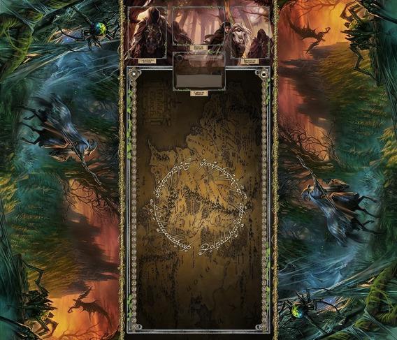 Playmat Para O Senhor Dos Anéis: Card Game